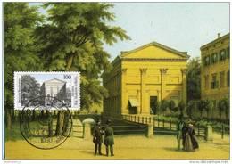 Bund BRD Germany Maximumkarte Maxicard MK FDC 1520 Sing Akademie Musik (0011154) - Maximumkarten (MC)