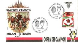 Calcio Soccer Coppa Dei Campioni Milan Steaua Bucarest Romania 1989 - Europei Di Calcio (UEFA)