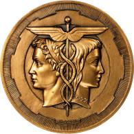 France, Médaille, Ecole Supérieure De Génie Electrique, Rouen, 1991, Coeffin - Other