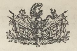 Paris An 8 - 13.5.1800 Réquisitionnent Pour Les Armées Héraldique - Postmark Collection (Covers)