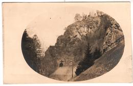 + 1472 , FOTO-AK, WK I, Eisenbahntunnel - Guerra 1914-18