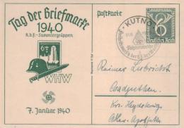 D.-Reich Ganzsache- Stempel Beleg... (ka4625 ) Siehe Scan ! - Briefe U. Dokumente