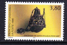 Andorra Fr. 1996 Censer 1v  ** Mnh (40652N) - Frans-Andorra