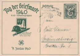 D.-Reich Ganzsache- Stempel Beleg... (ka4631 ) Siehe Scan ! - Briefe U. Dokumente