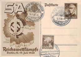 D.-Reich Ganzsache- Stempel Beleg... (ka4633 ) Siehe Scan ! - Briefe U. Dokumente