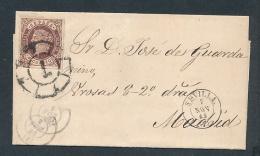 Spanien  -uralter Beleg... (oo5758 ) Siehe Scan ! - 1850-68 Royaume: Isabelle II