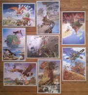 Lot De 8 Cartes Postales FAIRIES Fées Elfes / Illustrateur Patrick WOODROFFE - Contes, Fables & Légendes