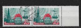 Russia/USSR 1958,Radio Day,Pair Scott 2063,VF CTO NH**OG (L-1) - 1923-1991 USSR