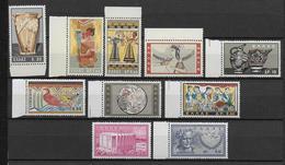GRECE - YVERT N° 743/752 ** / MNH - COTE = 40.5 EURO - Unused Stamps
