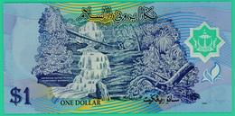 1 Dollar - Brunei - 1996 - Polymère - N° C/22 834995  -  Neuf - - Brunei