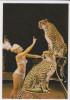 CALENDAR Russia USSR 1982 Circus, Leopards - Calendari