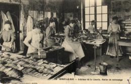 B 9773 - Arnay - Le Duc (21)  Interieur De La Limerie     Atelier De Redressage - Arnay Le Duc