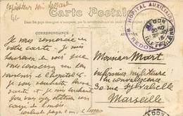 CACHET HÔPITAL AUXILIAIRE - Redon - Marcophilie (Lettres)