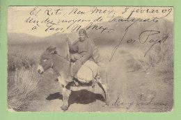 EL RITO : Un Indien. Indian. 1909. Oblitération Elrito. 2 Scans. - Etats-Unis