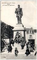 86 MONTMORILLON - Statue Du Général De Ladmirault - Montmorillon