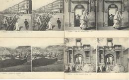 ALGERIE  Lot De 14 Cartes Photo Stéréo - Stéréoscopique - ALGER - CONSTATINE - TEBESSA - BISKRA - BATNA - EL KANTARA - - Algérie