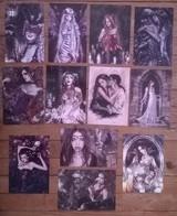 Lot De 12 Cartes Postales FAIRIES Fées Elfes Fantastique / Illustrateur Amandine LABARRE - Contes, Fables & Légendes