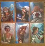 Lot De 6 Cartes Postales FAIRIES Fées Elfes Fantastique / Illustrateur FREZZATO - Contes, Fables & Légendes