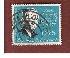 VENEZUELA  - SG 1612 -  1960 ANNIV. OF BLANCO, POET  -  USED° - Venezuela