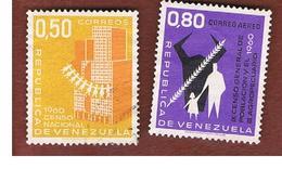 VENEZUELA  - SG 1678.1683    -       1961     POPULATION & FARMING CENSUS   -  USED° - Venezuela