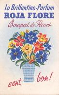 CARTE Parfumée Brillantine Parfum Roja Flore Bouquet De Fleurs - Perfume Cards