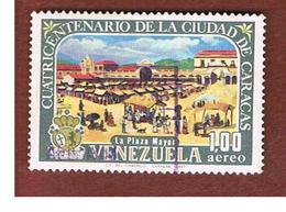 VENEZUELA  - SG 2000    -       1967     400^ ANNIV. CARACAS: PLAZA MAYOR              -  USED° - Venezuela