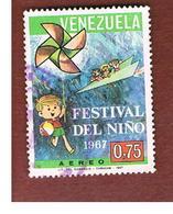 VENEZUELA  - SG 2018   -       1967     CHILDREN'S FESTIVAL             -  USED° - Venezuela