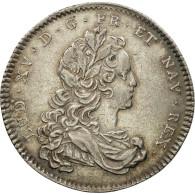 France, Jeton, Louis XV, Chambre De Commerce De Rouen, 1721, SUP, Argent - Other