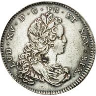France, Jeton, Louis XV, Chambre De Commerce De Rouen, 1721, TTB+, Argent - Other
