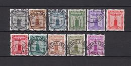 Deutsches Reich - Dienst - 1942/44 - Michel Nr. 155/165 - 300 Euro - Dienstpost