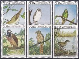 Kuba Cuba 1975 Tiere Fauna Animals Vögel Birds Oiseaux Aves Uccelli Vireo Tauben Doves Milan, Mi. 2057-2 ** - Kuba