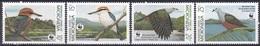 Mikronesien Micronesia 1990 Tiere Fauna Animals Vögel Birds Oiseaux Aves Uccelli Tauben Doves WWF, Mi. 174-7 ** - Mikronesien