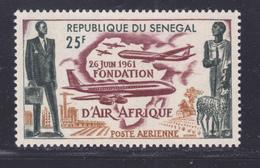 SENEGAL AERIENS N°   36 ** MNH Neuf Sans Charnière, TB (D7595) Fondation Compagnie Air Afrique - 1962 - Sénégal (1960-...)