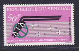 SENEGAL AERIENS N°   38 ** MNH Neuf Sans Charnière, TB (D7596) Air Afrique Et Avion DC-8 - 1963 - Sénégal (1960-...)