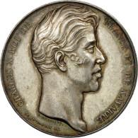 France, Jeton, Charles X, Chambre De Commerce De Rouen, Dubois F., SUP, Argent - Other