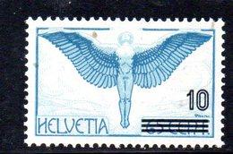 346/1500 - SVIZZERA 1938 ,  Unificato N. 312B  ***  MNH Posta Aerea - Nuovi