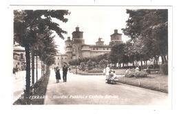 Ferrara Giardini Pubblici E Castello Estense N/V Unused - Ferrara