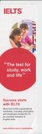 Bookmark Marque Page - IELTS Exam British Council Program 2015 Romania - Bookmarks
