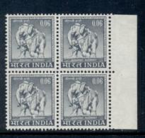 India 1965-68 Elephant 6p Blk4 MUH - Andere