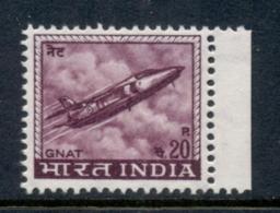 India 1965-68 Gnat Plane 20p MUH - Andere