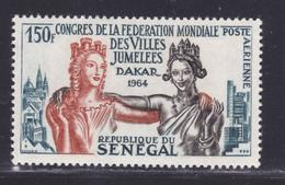 SENEGAL AERIENS N°   41 ** MNH Neuf Sans Charnière, TB (D7599) Congrès Des Villes Jumelées - 1964 - Sénégal (1960-...)