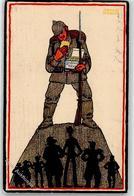 52587266 - Leibniz Keks, Bahlsen, Soldat, Pickelhaube, Gewehr - Guerra 1914-18