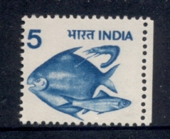 India 1975-88 Fish 5p MUH - Inde