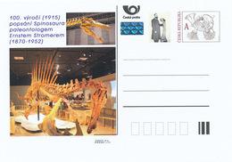 Rep. Ceca / Cart. Postali (Pre2015/13) Ernst Stromer (1870-1952) 100. Anniversario Descrive Spinosaurus (1915) - Prehistorics