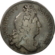 France, Jeton, Louis XIV, Réunion Des Marchands De Rouen, 1706, TB, Argent - Other