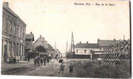 Belgie - Belgique - Berchem (Flandre) - Rue De La Gare - Kluisbergen