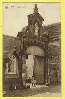 * Lier - Lierre (Antwerpen - Anvers) * (Nels, Uitgever Slootmaekers Geerinckx) Begijnhof Poort, Porte Béguinage, Animée - Lier