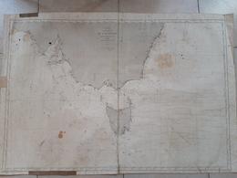 Carte De La Côte Sud De L'Australie. 1872 Depot Général De La Marine - Nautical Charts