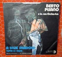 """BERTO PISANO A BLUE SHADOW  COVER NO VINYL 45 GIRI - 7"""" - Accessori & Bustine"""