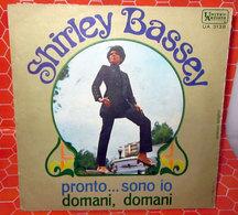 """SHIRLEY BASSEY PRONTO..SONO IO  COVER NO VINYL 45 GIRI - 7"""" - Accessori & Bustine"""